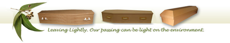 Leaving Lightly eco-friendly cardboard coffins